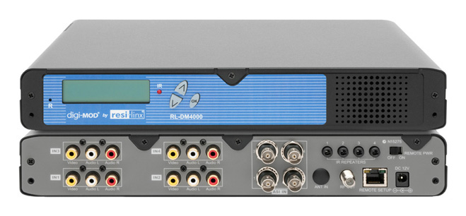 Resi-Linx RL-DM4000 4 Channel AV & IR RF Digital DVB-T Modulator