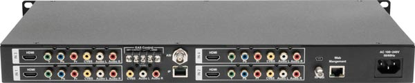 RL HD-4001DM Quad Input DVB-T HD Modulator