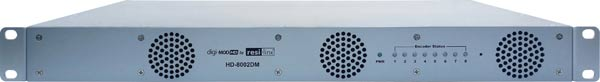 RL HD-8002DM Eight Input DVB-T HD Modulator