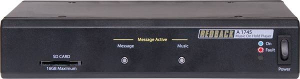MP3/SD Music On Hold Message Player