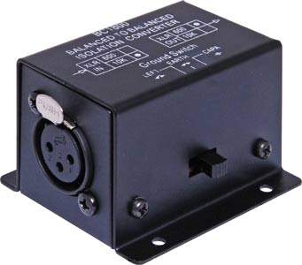 Line Isolation Transformer 10kΩ to 600Ω XLR