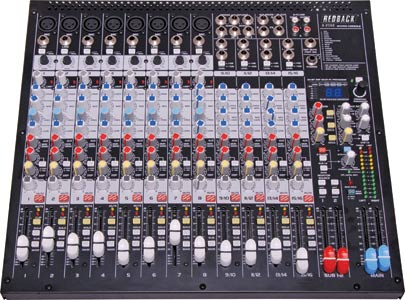 16 Channel DSP Mixer With USB Output & Effects