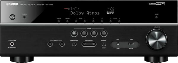 Yamaha RX-V583B 7.2Ch Network AV Bluetooth Receiver Amplifier