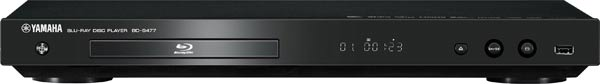 Yamaha BD-S477B Blu-Ray Player