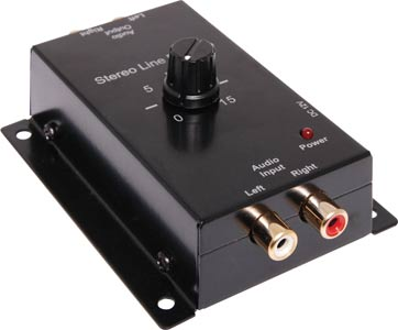Compact Stereo Line Pre-amplifier
