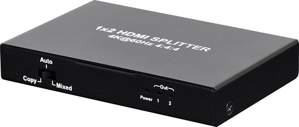 2 Way HDMI Splitter V2.0 18GBps Bandwidth