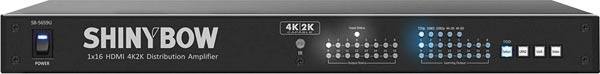 16 Way 4k 60Hz HDMI Splitter
