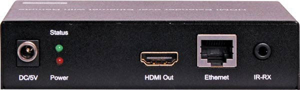 HDMI Over IP UTP Balun Receiver With POE IR And RS232