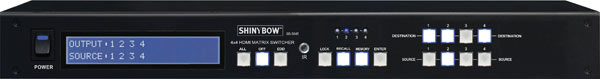 Shinybow 4 In To 4 Out HDMI Matrix Switcher