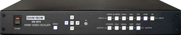7 Input to 1 Output Multiformat AV Scaler
