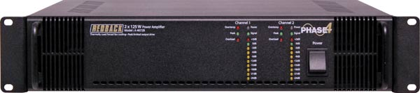 Phase4 Public Address Amplifier 2x125W