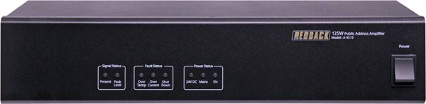 125W Public Address Power Amplifier