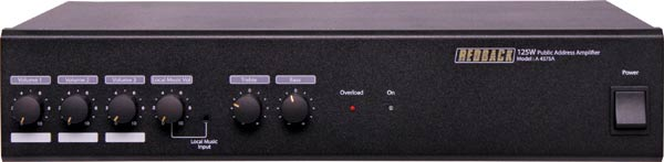 Redback Phase 4 PA Amplifier 250W 4 Input