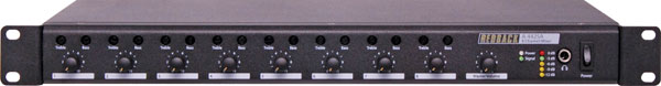 8 Channel Public Address Mixer With Bass and Treble