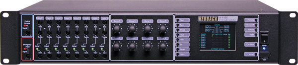 8 Input to 8 Output Audio Matrix Switcher