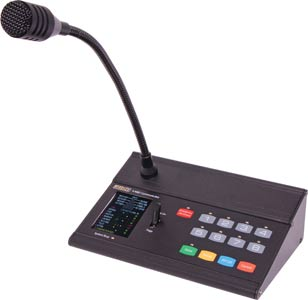 Paging Microphone Console To Suit A4480 Matrix Switcher