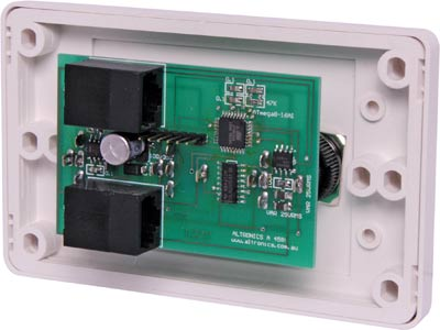 Remote Control RJ45 Wallplate to suit A 4575A