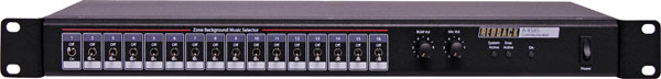 Line Level/Speaker Level Paging System Switch Box
