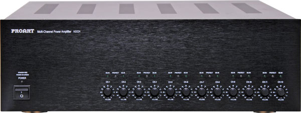 Proart Audio Distribuition System Multi-Zone Amplifier