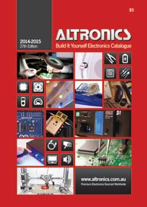 Altronics 2014/15 Build It Yourself Electronics Catalogue