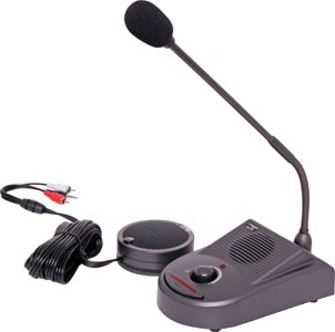 2 -Way Desktop Paging Microphone Intercom