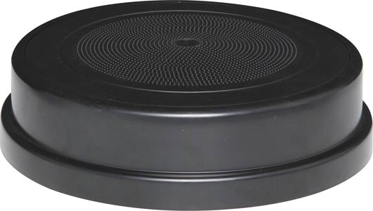 200mm 15W 100V Black One-Shot Surface Mount EWIS Speaker