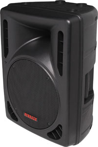 "200mm (8"") 2 Way MP3 USB Powered PA Speaker"