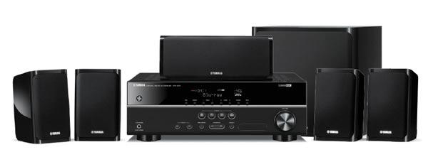 Yamaha YHT-1840B 5.1Ch Receiver & Speaker Package