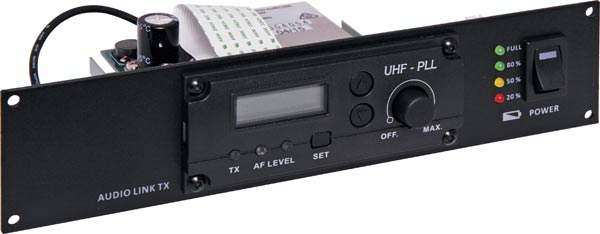 Wireless UHF 520-544MHz Link Transmitter