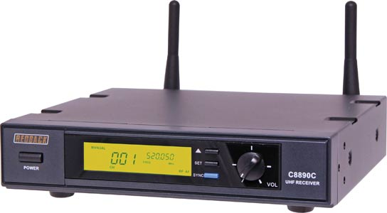 UHF Wireless Microphone System 700 Channel Receiver