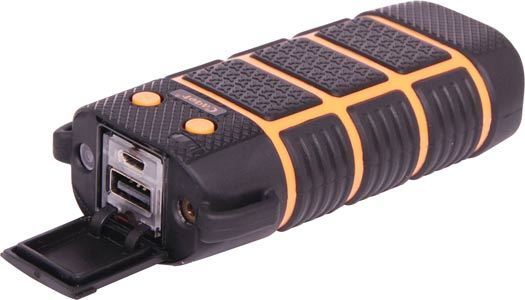 Rugged Weatherproof IP67 Mobile Battery Bank 5600mAH