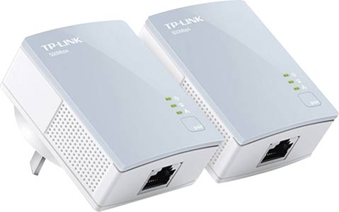 TL-PA411-KIT Ethernet Over Power Adaptor Pair 500Mbps