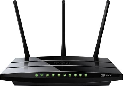 TL-ARCHER AC1200 Wireless Dual Band Gigabit VDSL Modem Router