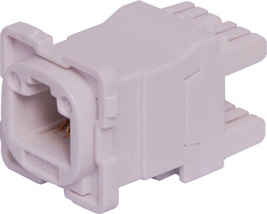 Keystone Cat6 Connector to suit Clipsal wallplate