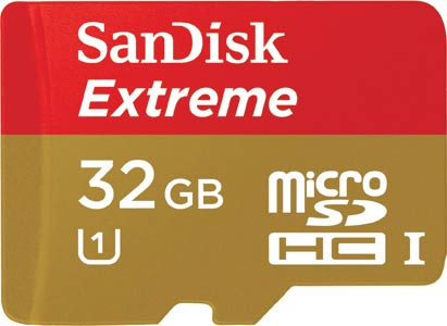 Extreme Micro SDHC Card 32GB