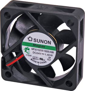 50mm 24VDC Maglev Bearing Fan