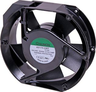171mm 240VAC Ball Bearing Fan