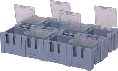 8 Way SMD Parts Storage Case
