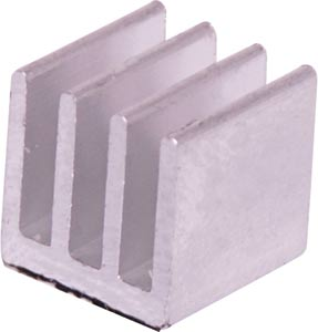 Mini PLCC Chip Adhesive Backed Heatsink - 10 x 10 x 10mm