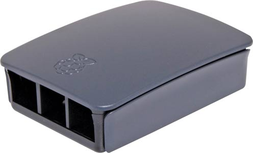Black Grey ABS Box to suit Raspberry Pi Model 3