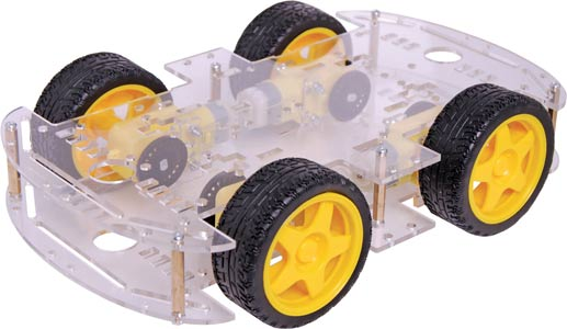 4WD Robot Builders Motorised Base