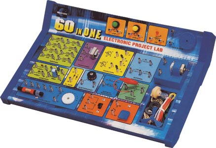 60 In 1 Electronics Lab Kit