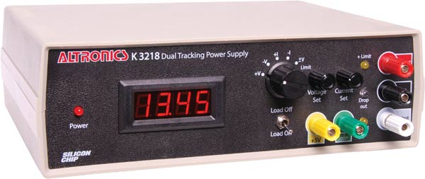 Dual Tracking 0-19V Power Supply Kit