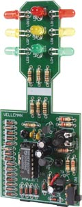 Miniature LED Traffic Lights Kit