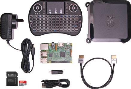 Raspberry Pi 3 Media Center Starter Kit