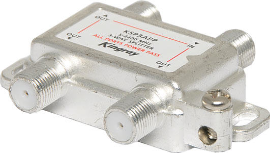 2400MHz 3W Professional Digital TV Splitter
