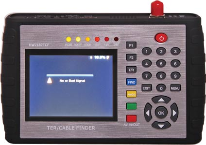 Professional 3.5?Digital TV Signal Tester & Cable Finder