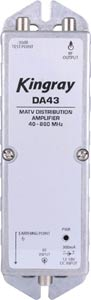 MATV Distribution Amplifier 43dB 40-860MHz