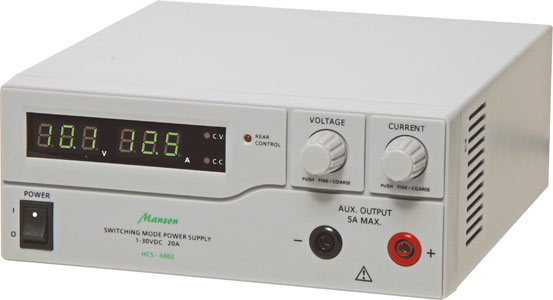 Manson 1V - 30V 20A Laboratory Regulated Power Supply