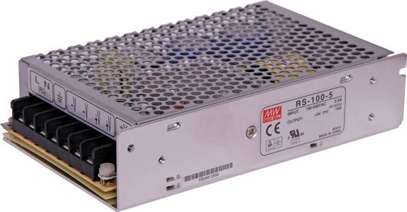 80W 12VDC Switchmode Power Supply